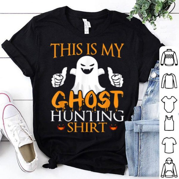 Premium This Is My Ghost Hunting Halloween Party Costume shirt