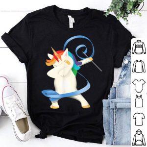 Rhythmic Gymnastics Dabbing Gymnast Unicorn shirt