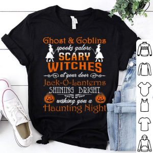 Scary Witches Halloween Funny Witch shirt