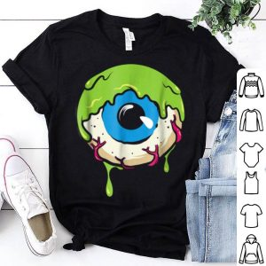 Slimy Human Eye Ball - Creepy Funny Halloween shirt
