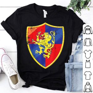 Top Medieval Halloween Costume Cute Funny Viking Lion Gift shirt