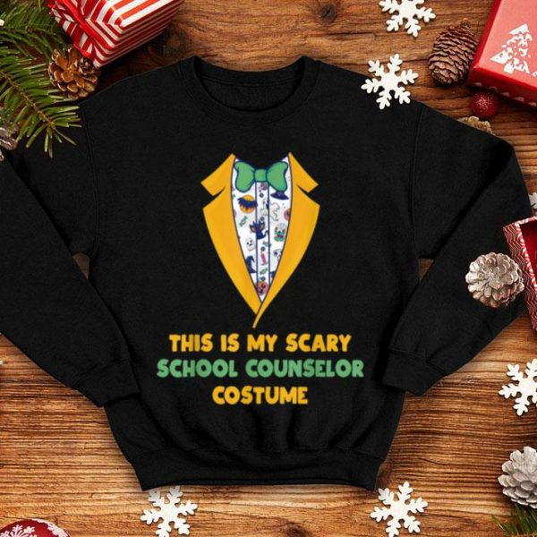 Top Scary School Counselor Costume Back To School Halloween shirt