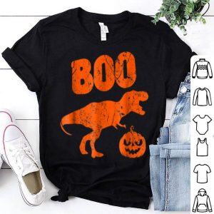 Top T Rex Dinosaur Pumpkin Unique Funny Halloween shirt
