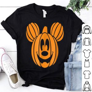 Awesome Disney Mickey Mouse Halloween Pumpkin head shirt