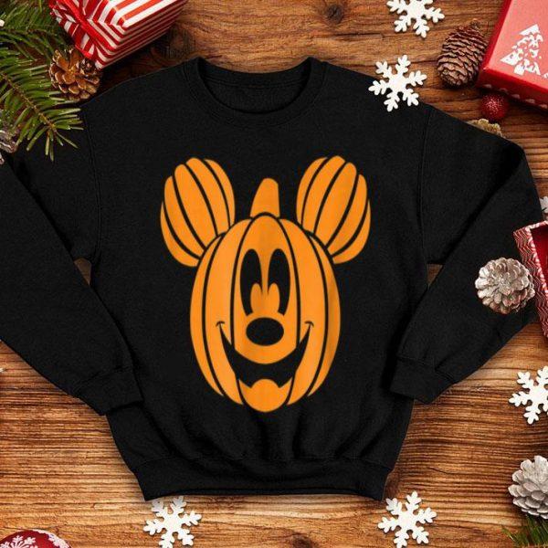 Awesome Disney Mickey Mouse Halloween Pumpkin head shirt