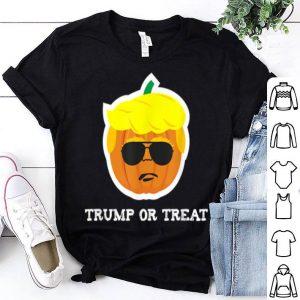 Awesome Donald Trump Halloween Pumpkin Treat Funny President shirt