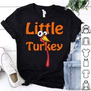 Awesome Little Turkey Thanksgiving Cute Toddler Girls Boys Gift Idea shirt