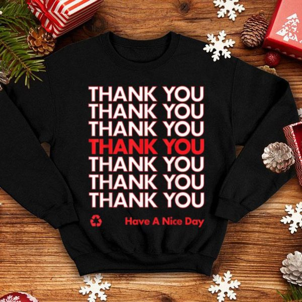 Beautiful Thank You Have A Nice Day Halloween Plastic Bag shirt