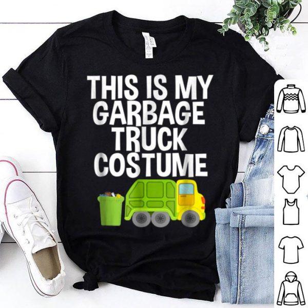 Beautiful This Is My Garbage Truck Costume Halloween Pajama shirt