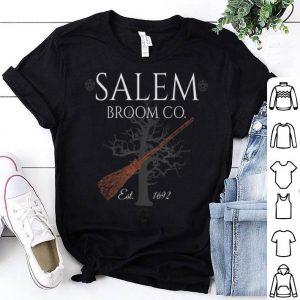 Funny Salem Broom Company Halloween Witch Gifts Women shirt