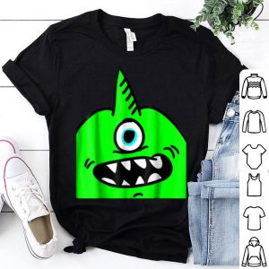 Funny Unicorn One Horned Monster Halloween shirt