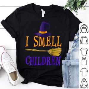 Nice I Smell Children Witch Halloween Costume shirt