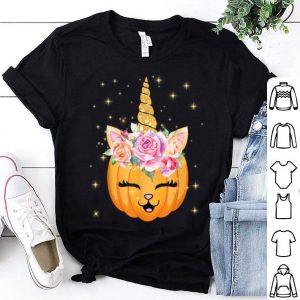 Official Cat Unicorn Halloween Thanksgiving Girls Cute Unicorn shirt