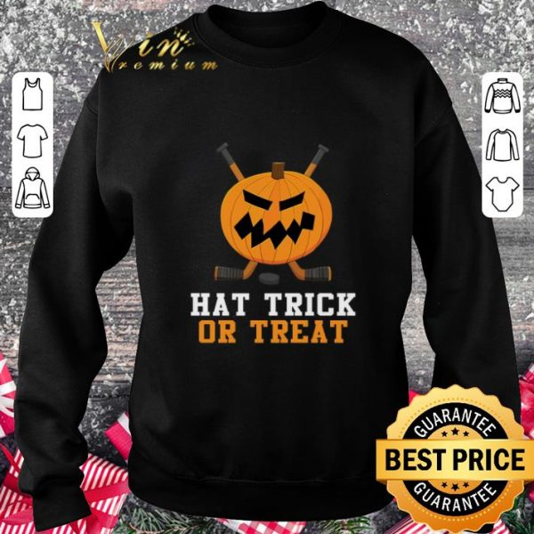Official Pumpkin hat trick or treat halloween shirt