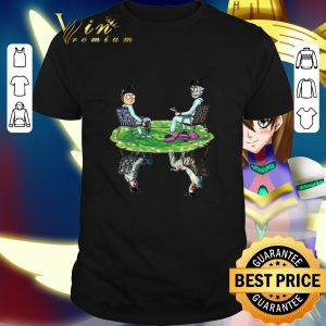 Official Rick and Morty Crossover Walter and Jesse Breaking Bad shirt
