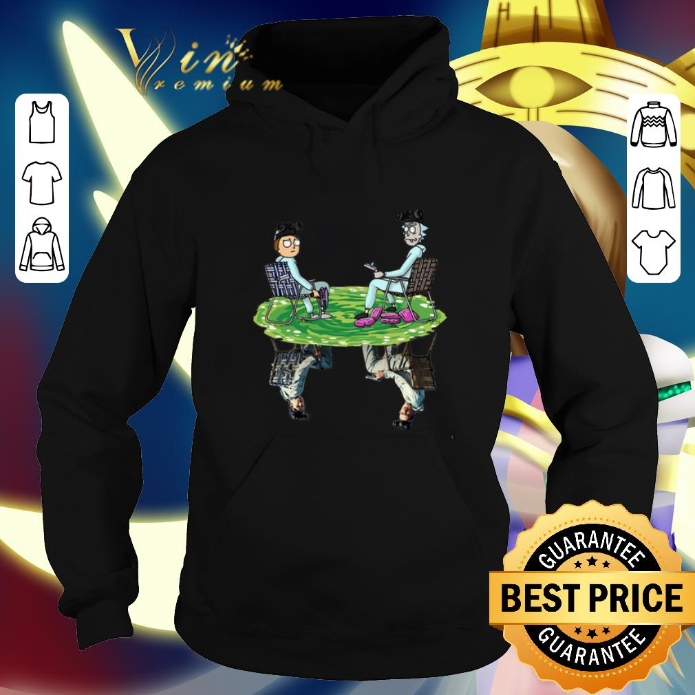 Official Rick and Morty Crossover Walter and Jesse Breaking Bad shirt 4 - Official Rick and Morty Crossover Walter and Jesse Breaking Bad shirt
