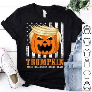 Official USA Trumpkin Make Halloween Great Again Funny shirt