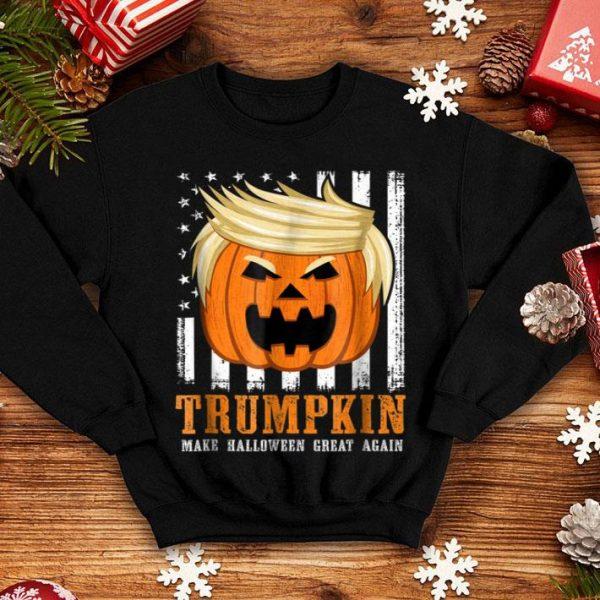Official USA Trumpkin Make Halloween Great Again Funny shirt