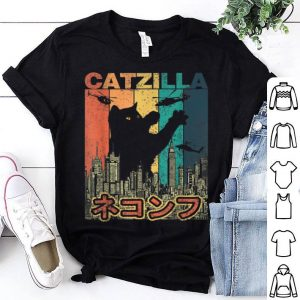 Official Vintage CATZILLA Japan - Kitty Cat lovers Halloween shirt