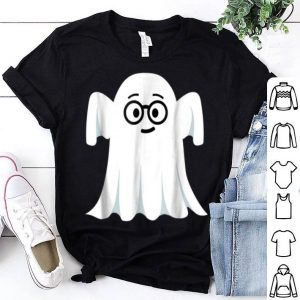 Original Ghost Emoji Nerd Geek Halloween Gift shirt