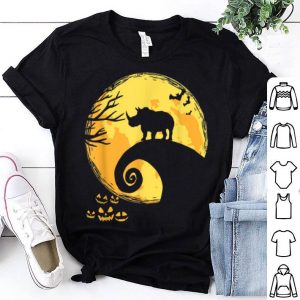 Original Rhino And Moon Halloween Costume shirt