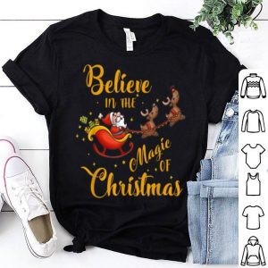 Original Santa Claus Believer Believe In Christmas Season Xmas Party shirt