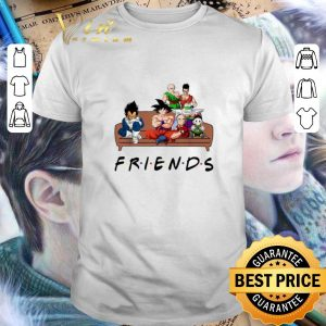 Premium Friends Dragon Ball characters shirt