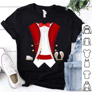 Premium Magician Tuxedo Magical Halloween For Wizard Sorcerer shirt