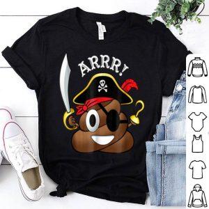 Premium Pirate Poop Emoji Funny Halloween Costume shirt