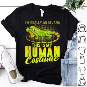 Premium Scary Iguana Human Costume Halloween Gift Women Men shirt