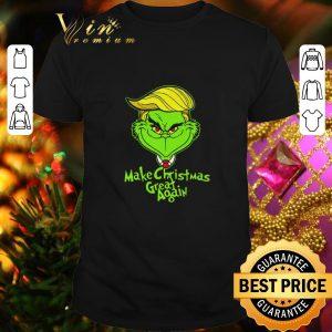 Premium Trump Grinch make Christmas great again shirt