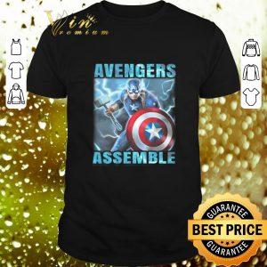 Awesome Avenger Assemble Captain America shirt