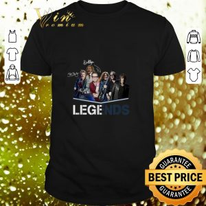 Awesome Bon Jovi Legends signatures shirt