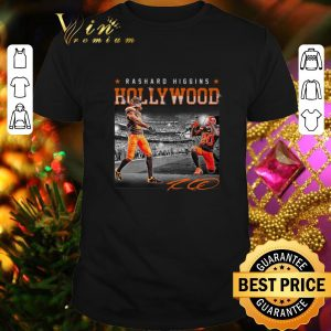 Awesome Cleveland Browns Rashard Higgins Holly Wood signature shirt