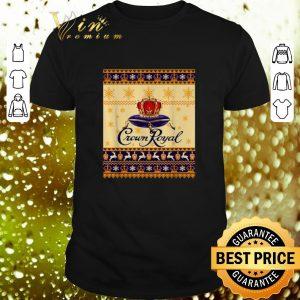 Awesome Crown Royal Christmas ugly shirt