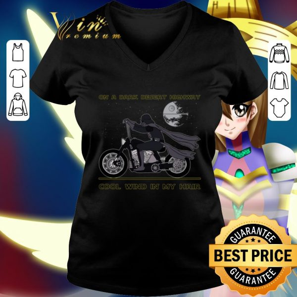 Awesome Darth Vader on a dark desert highway cool wind in my hair shirt