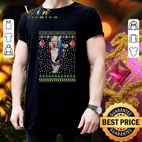 Awesome Harley Quinn Ugly Christmas sweater