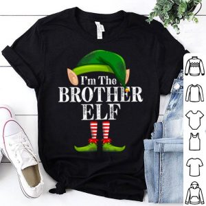 Awesome I'm The Brother Elf Matching Family Christmas Funny Costume shirt