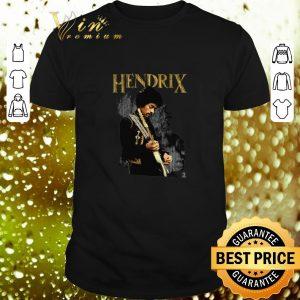 Awesome Jimi Hendrix playing guitar shirt