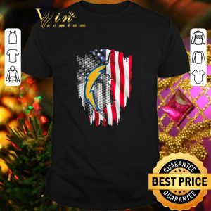 Awesome Los Angeles Chargers American flag shirt