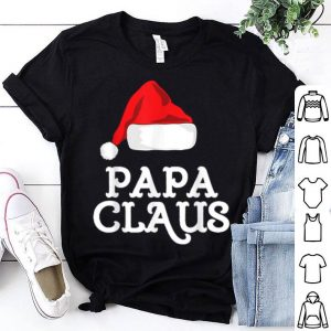 Awesome Papa Claus Christmas Family Matching Pajama Hat shirt