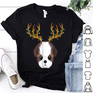 Beautiful Shih Tzu Christmas Lights My Christmas Pajama shirt