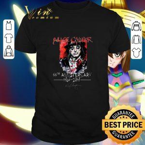 Best Alice Cooper 55th anniversary 1964-2019 signature shirt