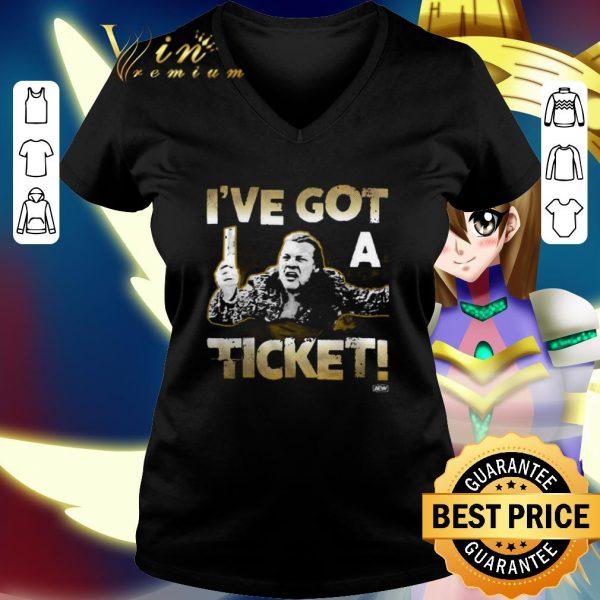 Best Chris Jericho I've got a ticket shirt