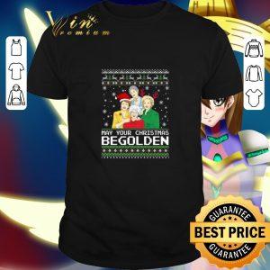 Best Golden Girls May Your Christmas be Golden shirt