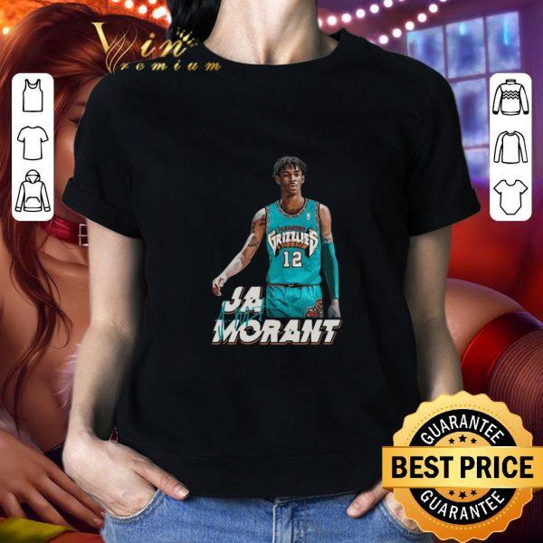 Best Ja Morant 12 Memphis Grizzlies Basketball signature shirt