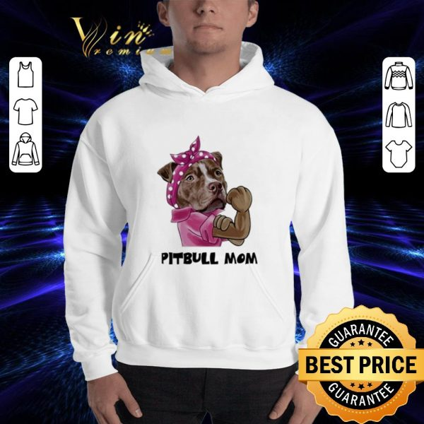 Best Pitbull mom shirt