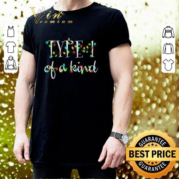 Best Type 1 of a kind Christmas lights shirt