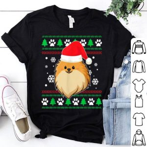 Hot Pomeranian Ugly Christmas Funny Dog Xmas shirt