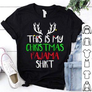 Hot This Is My Christmas Pajama Funny Christmas shirt